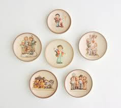Small Decorative Plates Vintage Mj Hummel Plates Lot Of 6 Miniature Hummel Plates