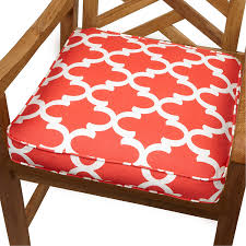 Amazon Mozaic Sabrina Corded Indoor Outdoor Chair Cushion
