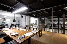 Warehouse office design Amazing View In Gallery Gorgeous Production Studio And Office Space With Indutrial Style Decoist Old Warehouses Make Stunning Office Spaces