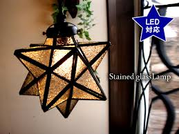 star shaped stained glass pendant lamp clear frost led bulb adaptive pendant light ceiling lighting glass lamp chandelier star etoile stella morocco