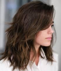 80 Sensational Medium Length Haircuts For Thick Hair In 2019 Hair