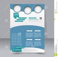 flyer template business brochure editable a poster stock vector flyer template business brochure editable a4 poster