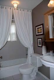 Inspiring Shower Curtain Ideas For Small Bathroom Window Photos