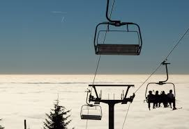 Free Image Skiers On A Chairlift Libreshot Public Domain Photos