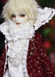 Byron - ball-jointed porcelain doll