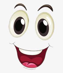 Image result for excited face cartoon