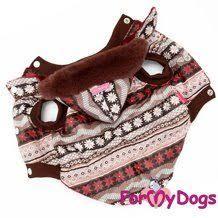 """<b>For My Dogs Куртка</b> """"Сканди"""" коричневая"""