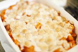 candied sweet potato recipes. Modren Sweet Candied Sweet Potato Casserole With Marshmallows In Recipes U