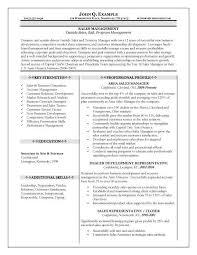 Sales Representative Duties And Responsibilities Resume From Sales