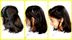 Unique Hairstyle For Medium Hair Girl 3 Cute Easy Summer Hairstyles