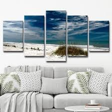 ready2hangart x27 silent beach x27 multi piece canvas wall art on canvas wall art overstock with shop ready2hangart silent beach multi piece canvas wall art set