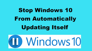 How To Stop Resume Windows 10 Automatic Update Youtube