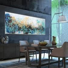 gold leaf abstract modern wall art home