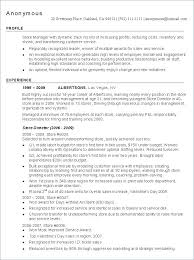 example of restaurant resume restaurant resume examples retail manager example o hostess