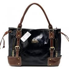 Coach Smooth Logo Medium Coffee Satchels BNW