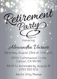 Retirement Celebration Invitation Template Retirement Invitations Samples Retirement Invitations Samples Free