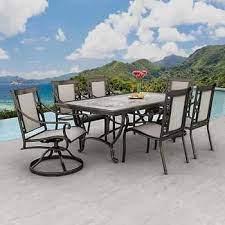 sling dining patio dining set