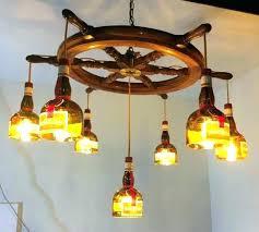 whiskey bottle chandelier kit