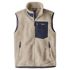 Patagonia Mens Classic Retro X Fleece Vest Natural