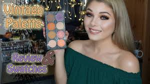 makeup addiction cosmetics vine palette review n swatches you