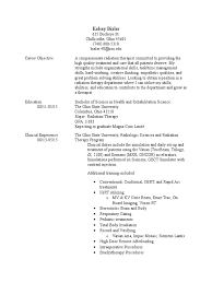 Resume Pt2 Radiation Therapy Health Care