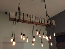 chandeliers diy edison bulb chandelier testing bare throughout idea 13