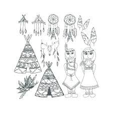 free indian coloring pages coloring pages coloring pages coloring free native coloring pages free indian summer