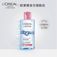 l oreal triple makeup remover cleansing water times the run type face gentle cleansing