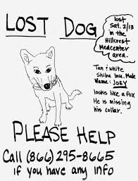 Lost Pet Poster Template Examining The Often Overlooked Art Of The Lost Pet Poster Art Pieces 14