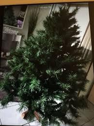 Weihnachtsdeko Fensterdeko Tannenbaum Filz Zapfen Weiß Deko