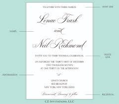 words invitation how to wedding invitation wording cz invitations