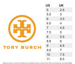 Tory Burch Size Chart Size Chart Tory Burch Flat Shoes Tory Burch Shoes Sizing