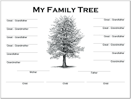 4 Generation Family Tree Template Word Photo Collage Meetwithlisa Info