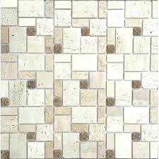 natural stone mosaic tile background wall living room porch beige culture puzzle stickers scabos