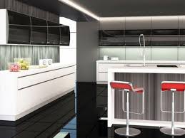 modern frosted glass kitchen cabinets