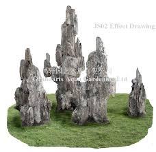 js02abcde artificial rock waterfall