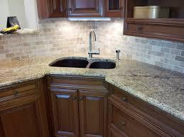 Venetian Gold Granite Kitchen Granite Countertop Tile Backsplash