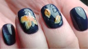 Fall Nail Designs 2018 80 Fall Nail Art Designs Best Polish Colors 2019