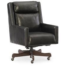 leather home office chair. Ivy Black Leather Home Office Chair D