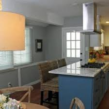 gas cooktop island. Blue Kitchen Island With Gas Cooktop N