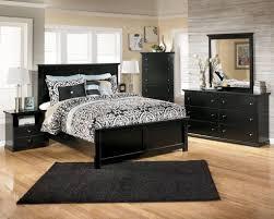 enchanting black bedroom furniture set ideas with black rug plus black and white damask bedding