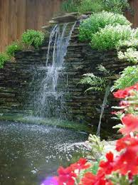 Small Picture Fascinating Garden Waterfall Ideas HOUSE DESIGN AND OFFICE