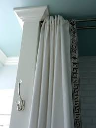 Hanging Shower Curtain Curtain Rods Without Drilling Best Double