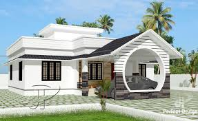 1108 square feet 2 bedroom low cost single floor home design and plan
