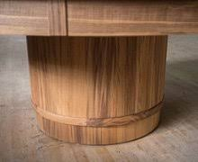 expanding round table. Barrel Expanding Round Table