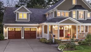 wood garage doorSemiCustom Garage Doors  Reserve Collection  Clopay