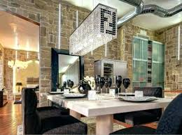 medium size of rectangle chandelier over dining table rectangular round size of for crystal room modern
