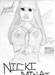 Small Picture Nicki Minaj Coloring Pages zimeonme
