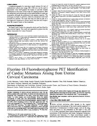 Fluorine Pdf Identification Of fluorodeoxyglucose Pet 18 Cardiac zxTqPSCxw