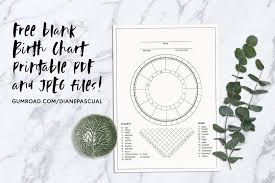 Blank Astrology Chart Forms 1 Birth Chart Download